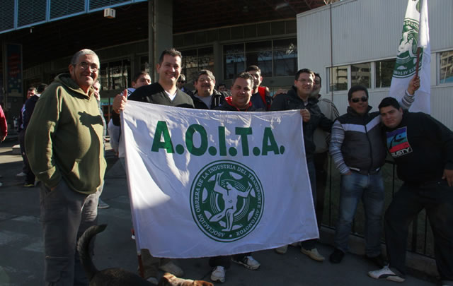Los choferes nucleados en Aoita pararon la semana pasada en Córdoba.