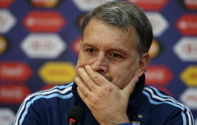 Martino, en conferencia de prensa luego de la final.