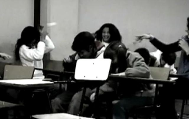 Los estudiantes quedaron solos durante una hora libre (Foto ilustrativa)
