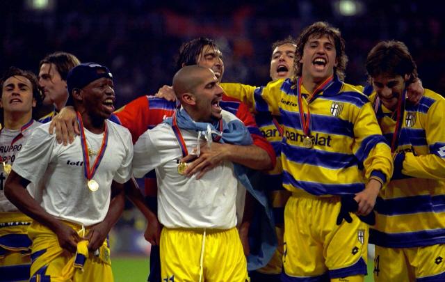 El Parma ganó cinco títulos en su historia.