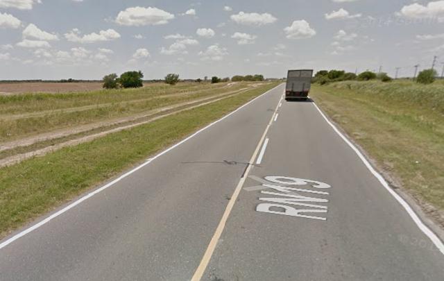Gastón Luján, de 26 años murió al chocar su auto contra un árbol en ruta 19.