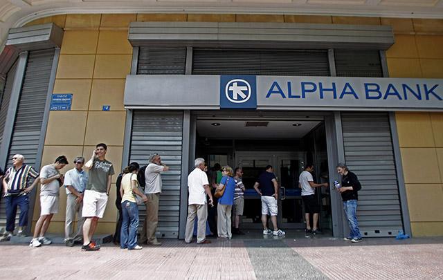 El premier acusó al Eurogrupo de ''chantajear'' al pueblo griego.