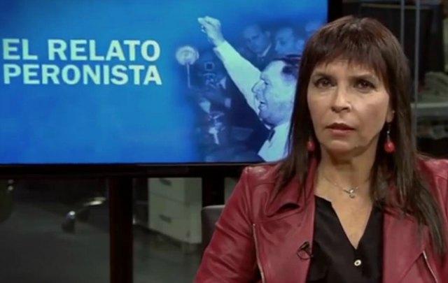 Silvia Mercado presenta ''El relato peronista''.