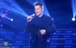 Ricky Martin enamoró al público en ShowMatch.