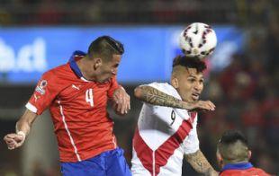 Guerrero cuestionó al árbitro venezolano.