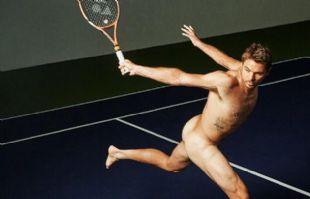 Stan Wawrinka, desnudo para ESPN.