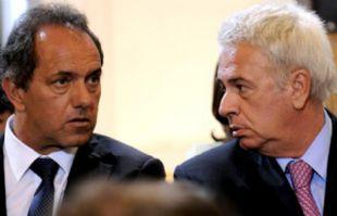 Scioli podría captar los votos de De la Sota si éste no supera las PASO.