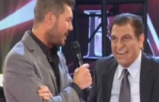 Freddy tentó a Tinelli con su imitación del DT de Paraguay.