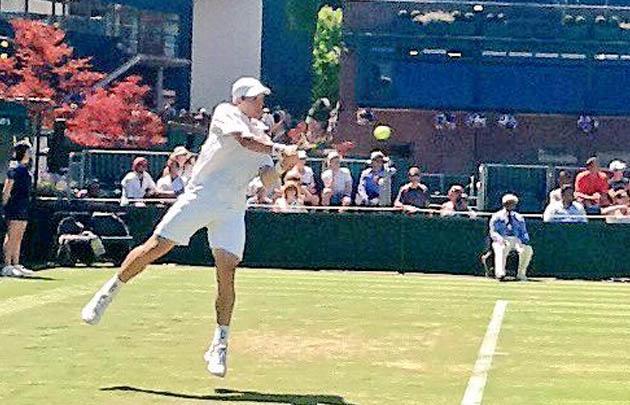 Bagnis fue el cuarto argentino eliminado de Wimbledon.
