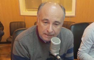 Eduardo Accastello en su visita a Juntos.
