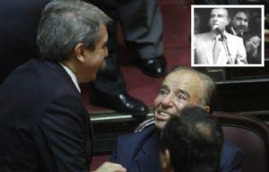 Aníbal Fernández - Carlos Menem