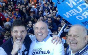 Accastello y Cacho cerraron la campaña a puro cuarteto.