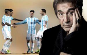 Al Pacino se manifestó fanático de la Selección.