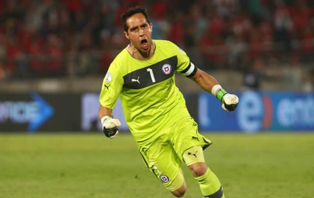 El arquero chileno fue decisivo para que su Selección logre la Copa.