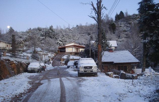La primera nevada del a o sorprendi a calamuchita for Chimentos de hoy en argentina