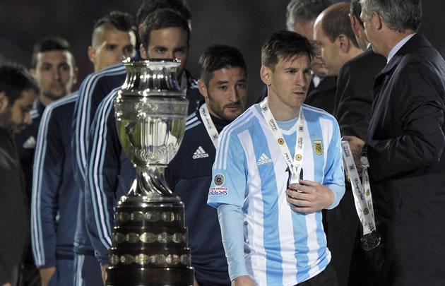 Messi recibió las peores críticas tras la derrota en la Copa América.