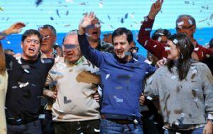 Recalde reconoció el tercer lugar obtenido en las elecciones porteñas.
