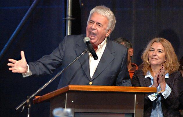 El mandatario cordobés dio un encendido discurso en el búnker de UpC.