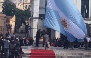 Mestre presidió el acto por el 442 aniversario de la fundación de Córdoba.
