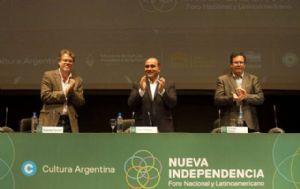 Forster participa del Foro Nacional y Latinoamericano para una Nueva Independencia.