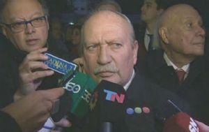 El juez Luis Cabral agradeció el apoyo de sus colegas.