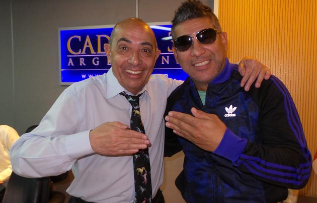 La ''Pepa'' Brizuela y Mario Pereyra en Cadena 3.