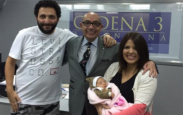 Marcelo Hohamed, Mario, Geo y la princesita Amira.