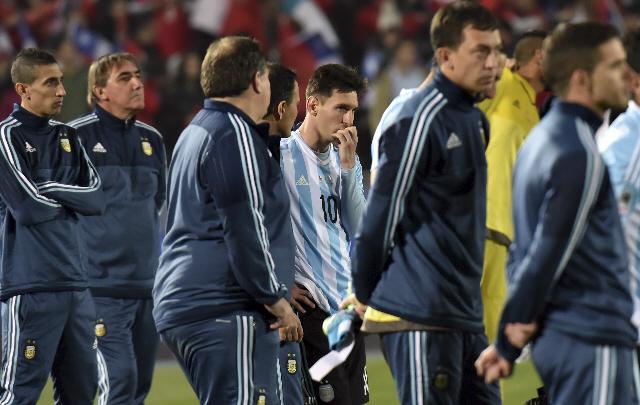 Biglia aseguró que nunca vio a Lionel Messi tan destrozado tras la final ante Chile.