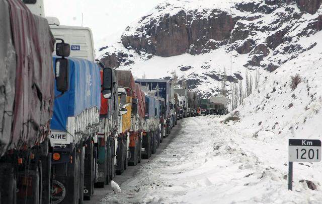 El Paso Internacional a Chile se encuentra cerrado por las tormentas.(Foto:Archivo)