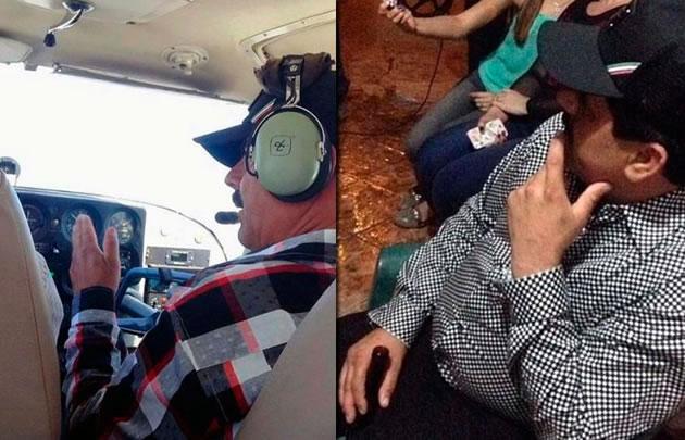Las primeras fotos de la fuga del Chapo Guzmán.