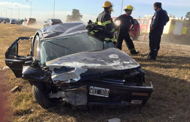 Impactantes imágenes del accidente.
