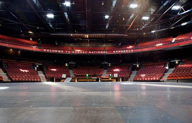 El Forest National de Bruselas, escenario de las semifinales.