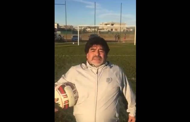 Maradona habla de todo