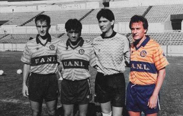 ''El Pato'' jugó en Tigres entre 1991 y 1993.