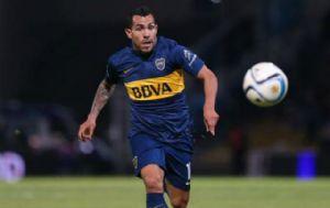 Tevez fue el autor del 3 a 0 para Boca.