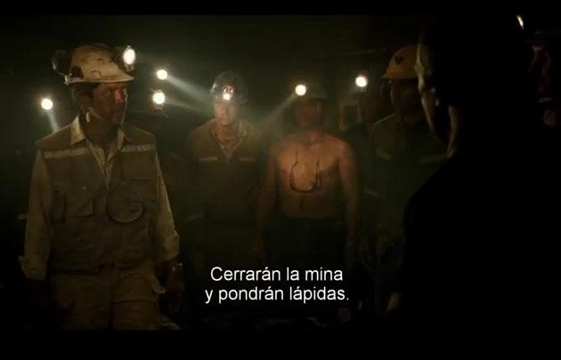 """Se presnetó el tráiler de la película sobre los mineros chilenos, """"Los 33""""."""
