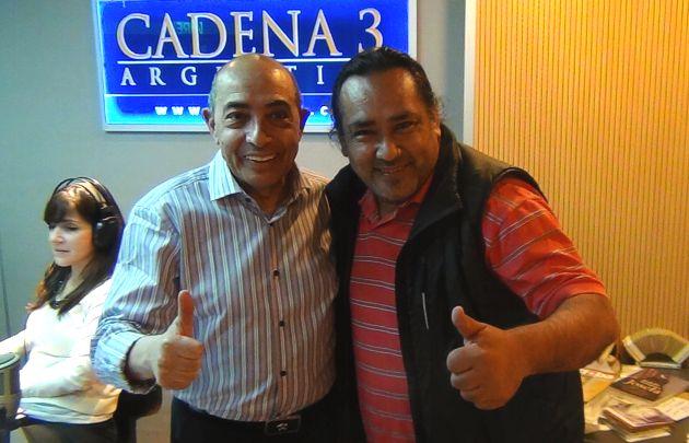 Sergio Galleguillo durante su visita a Juntos.