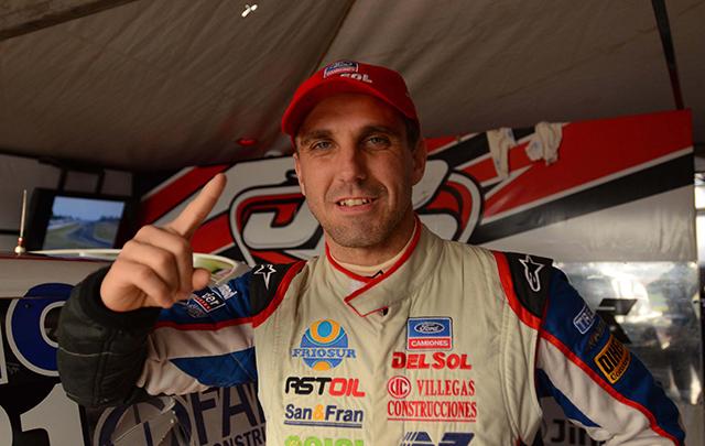 Juan Pablo Giannini se quedó con el mejor tiempo de clasificación.
