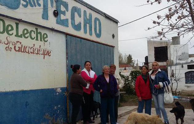 240 niños quedaron sin su copa de leche  (Foto: @veroensinas)