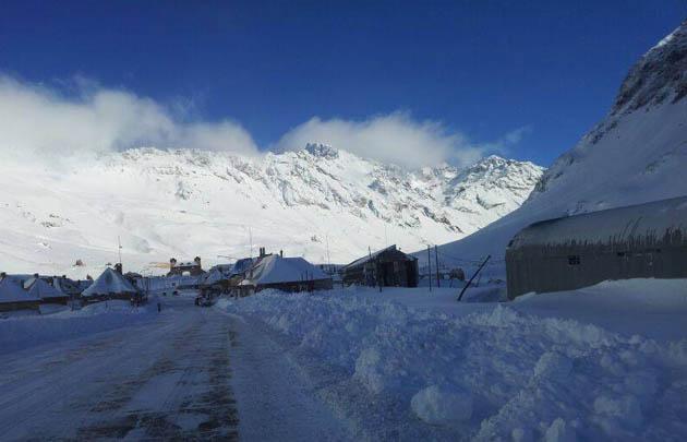 Nieve en Mendoza.