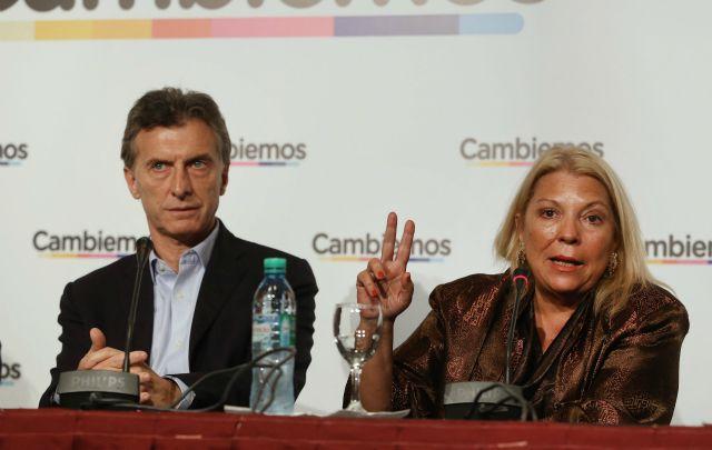 Lilita Carrió respaldó a Macri: