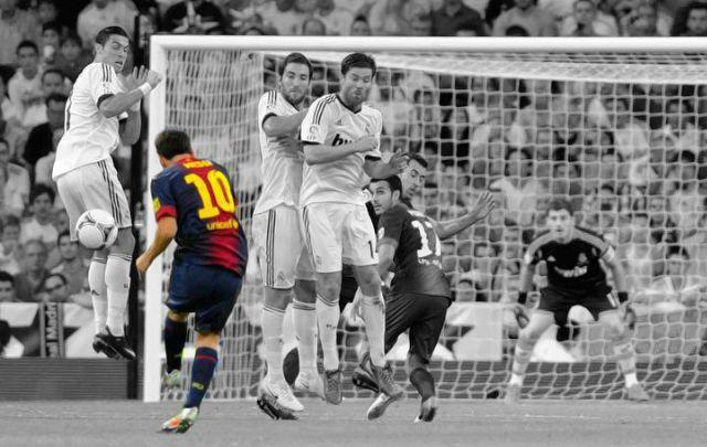 Recopilación de todos los goles de Lionel Messi de tiro libre.
