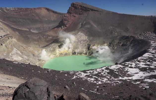 Rige una alerta verde para el volcán TUpungatito.