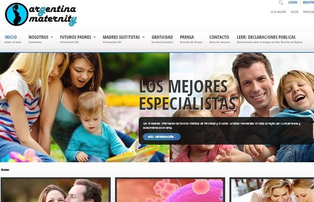 Argentina Maternity cerró su sitio.