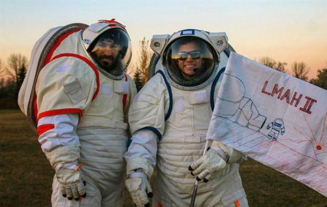 Pablo de León creará el primer hábitat para astronautas en Marte.