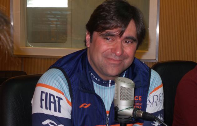Juanjo Vargas es partícipe del Cruce por la Educación.