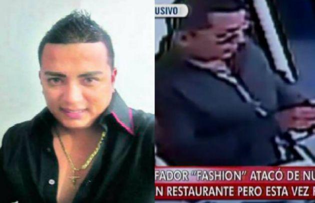 """Jaime Arturo Campos Chauca se hizo conocido como el """"estafador fashion""""."""