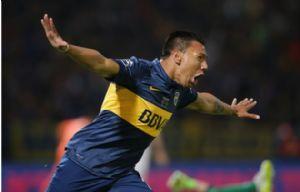 Chávez fue el autor de uno de los tres goles de Boca en Chaco.