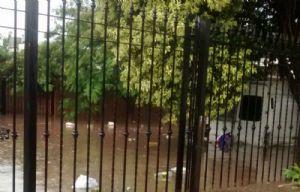 El agua anegó calles en Córdoba (Foto: Gustavo Madina, oyente de Cadena 3)