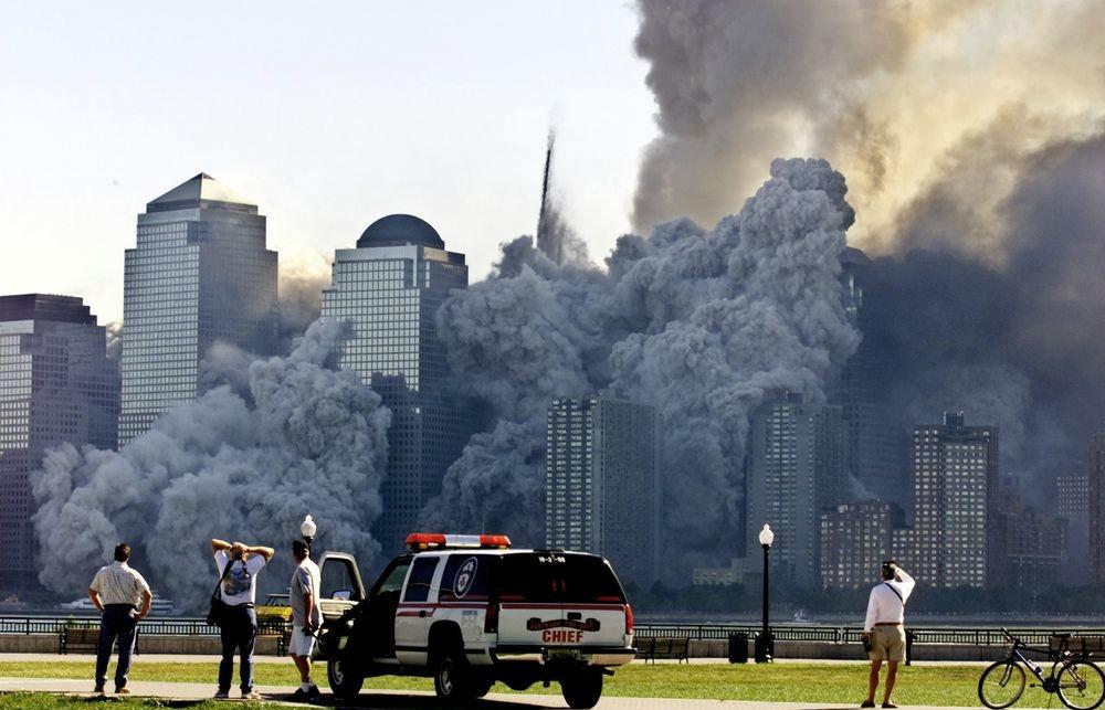 Quince imágenes icónicas del ataque a las Torres Gemelas